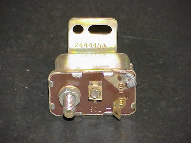64-71 Plymouth Series 383 426 Engines Fuel Pump Block Off Plate Kit