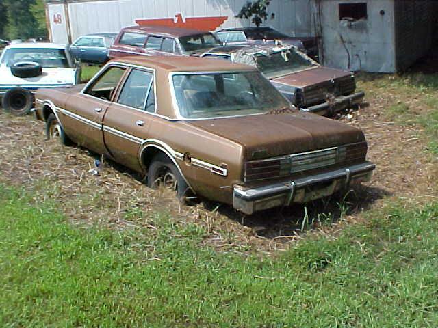 1979 Dodge Aspen 4 Door Sedan Bronze Vin Nl41d9f