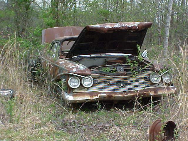 Mopar 57 58 59 60 61 Chrysler Dodge Hood Bumper Kit With Mounting Hardware New